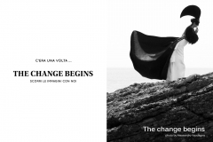 THE CHANGE BEGINS