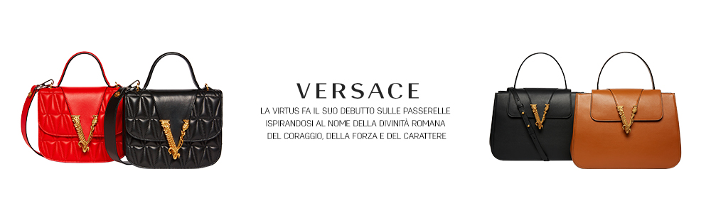 V come Virtus by Versace